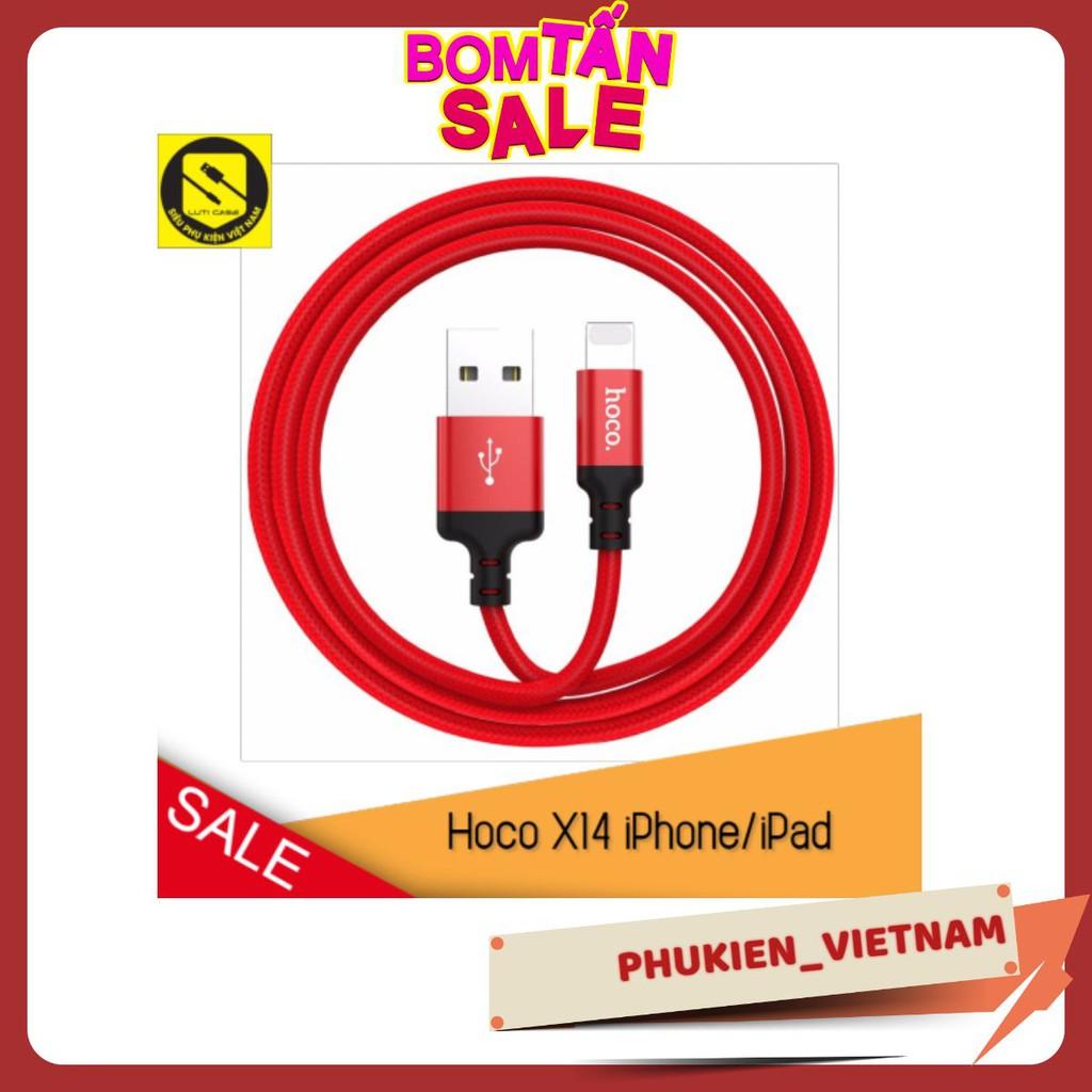 Cáp Sạc Hoco X14 Chính Hãng Cho Điện Thoại IPad Pin Dự Phòng Cáp Sạc Tai nghe Bluetooth Airpods IPhone