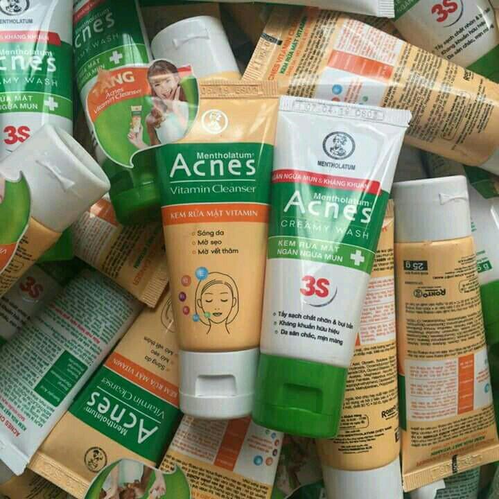 Sữa rửa mặt Acnes Vitamin Cleanser 25g - 2848911 , 830584016 , 322_830584016 , 15000 , Sua-rua-mat-Acnes-Vitamin-Cleanser-25g-322_830584016 , shopee.vn , Sữa rửa mặt Acnes Vitamin Cleanser 25g