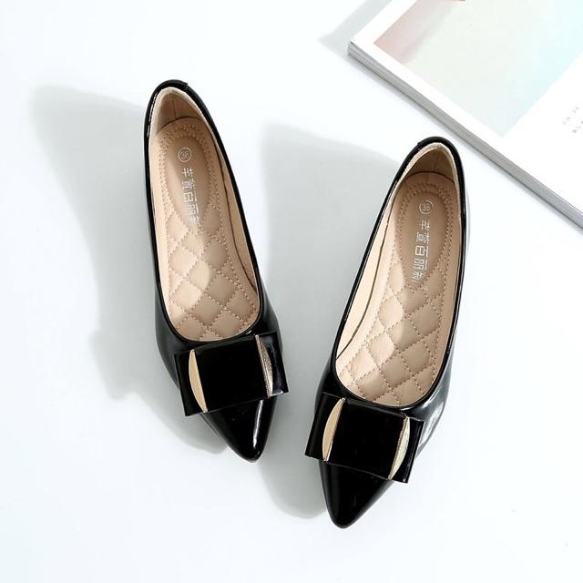 (ORDER SALE) giày búp bê nơ to 1 lá