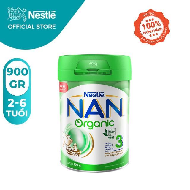 Sữa Bột Nestle NAN ORGANIC 3 – Hộp 900gram