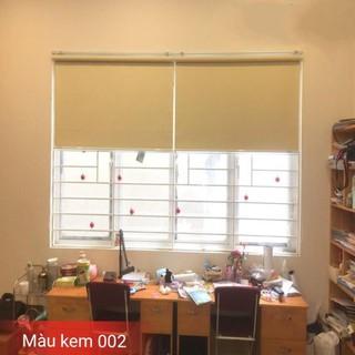 Rèm cuốn chống nắng cản sáng 100% ( làm mọi kích thước) đầy đủ phụ kiện lắp đặt