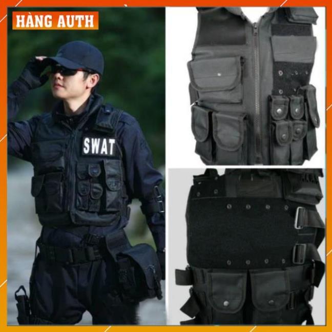 Áo Giáp SWAT Bảo Hộ Xe Máy - Áo Giáp Đi Phượt Phong Cách Lính Mỹ