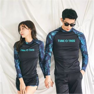BikiniStoreVn : Đồ Bơi tay dài cặp đôi Couple Style Hàn Quốc Ani18