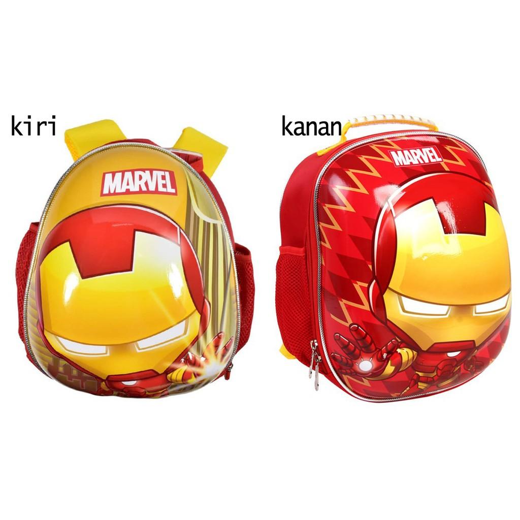 Marvel Ba Lô Họa Tiết Iron Man Xinh Xắn Chất Lượng