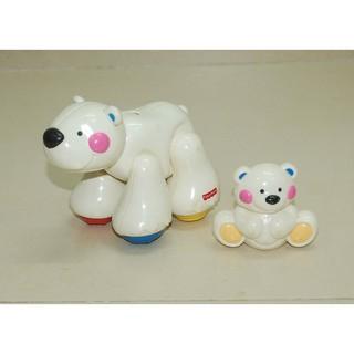 90% Mẹ con gấu Bắc cực có tiếng Fisher Price (Mỹ)