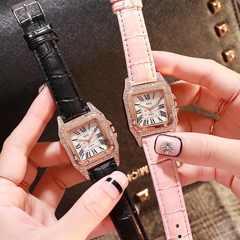 Đồng hồ thời trang nữ DZG đính đá cực đẹp SCS5179
