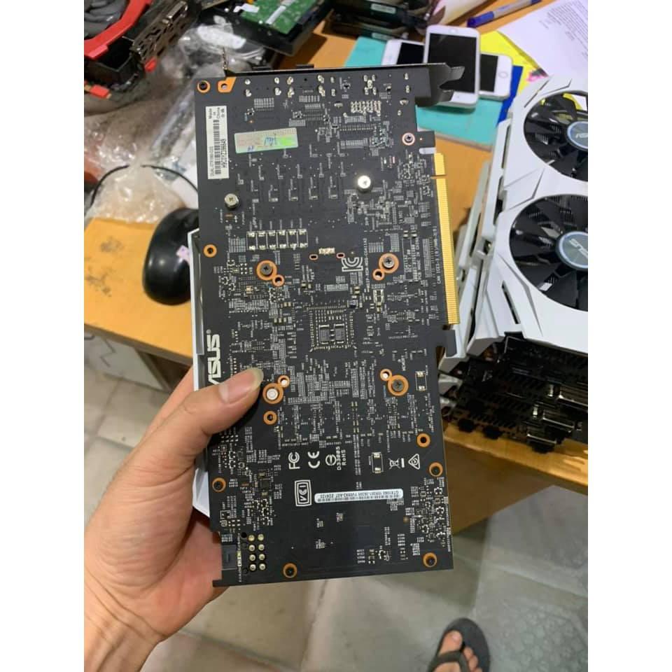 VGA CŨ ASUS DUAL - GTX1060 - O3G BẢN 3GB - 192 BIT - DDR5 95