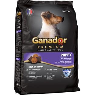 Ganador puppy - thức ăn cho chó vị sữa bổ sung DHA