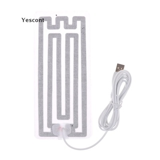 Yescont New USB Heating Element Film Heater 8*18CM For Warm Feet Hand Warmer Electric Belts .
