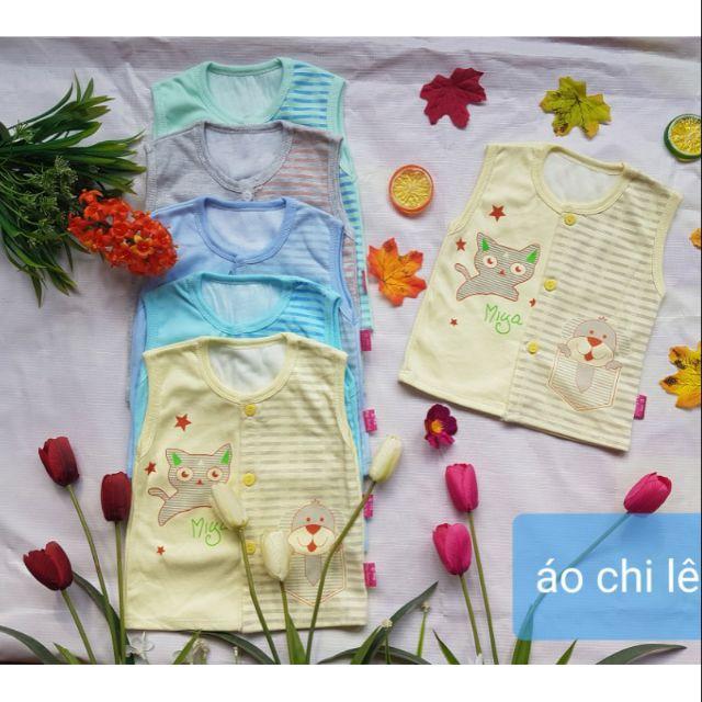 Set 3 Áo chi lê cotton hàng đẹp cho bé ( sỉ lẻ )
