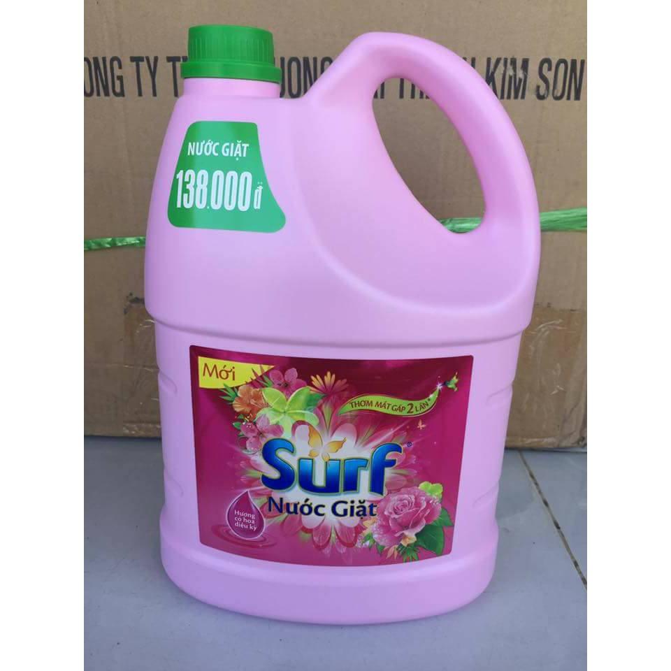 Nước giặt Surf hương Hoa cỏ diệu kì chai 3.8kgp