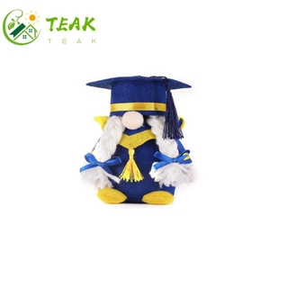 TEAK Party Supplies Gnome Decorations Gifts Class of 2021 Plush Gnomes Home Decor Handmade Toy Table Ornaments Graduation