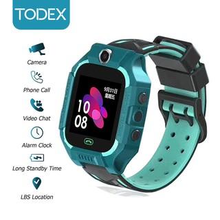 Đồng Hồ Thông Minh TODEX Q12B Chống Nước IPX4 Hỗ Trợ LBS SOS 2G Android Cho Bé