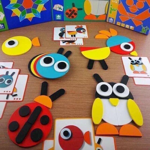 Bộ Xếp hình Montessori