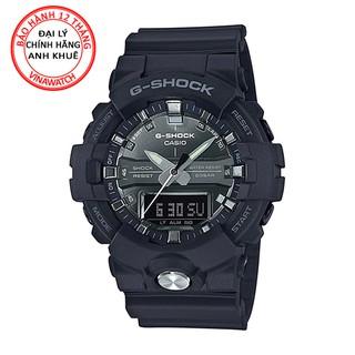 Đồng hồ Nam G-Shock Casio dây nhựa kim-điện tử GA-810MMA-1ADR - Chính hãng Casio Anh Khuê thumbnail