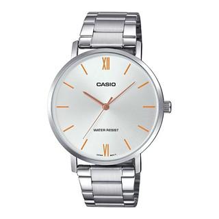 [Mã FARSBR153 giảm 15% đơn 150K] Đồng hồ nam dây kim loại Casio MTP-VT01D-7BUDF chính hãng