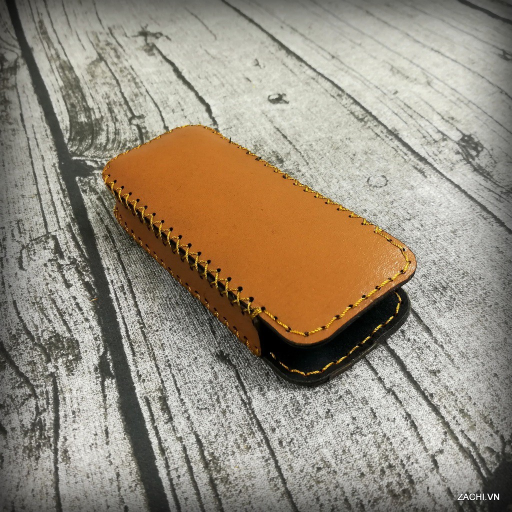 Bao da Nokia 8800 da bò thật 100% handmade - Zachi