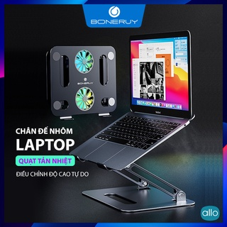 Chân Đế Tản Nhiệt Laptop Boneruy P43F, Chỉnh Độ Cao Tự Do Bộ Quạt Đội, Chất Liệu Hợp Kim Nhôm Dùng Cho Laptop & Tablet thumbnail