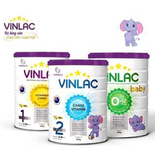 Sữa Vinlac đủ số 400g, 900g Date mới nhất thumbnail