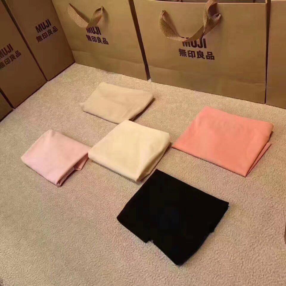 Quần lót đúc nữ Muji Nhật đóng hộp Quần mặc mát lạnh mền nhũn