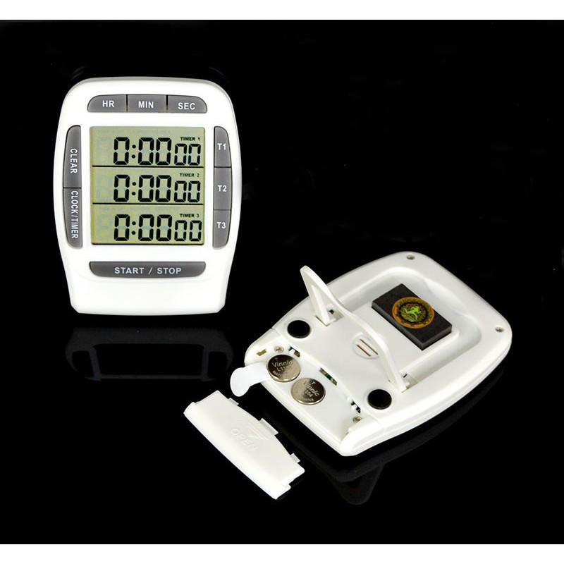 Đồng hồ bấm giờ đếm ngược điện tử 3in1 PS-370