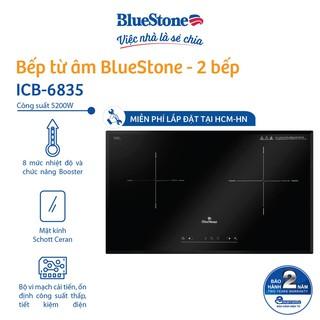 Miễn phí lắp đặt HCM HN Bếp Âm Từ Đôi Bluestone ICB-6835 (5200W) thumbnail