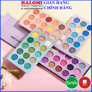 Bảng màu mắt 60 ô Beauty Glazed Color Board bao gồm 4 bảng nhỏ 15 ô với đủ tone màu phổ biến dễ makeup lên tone lâu trôi thumbnail