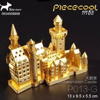 Đồ chơi lắp ghép mô hình 3D bằng thép Lâu đài Thiên Nga Piececool