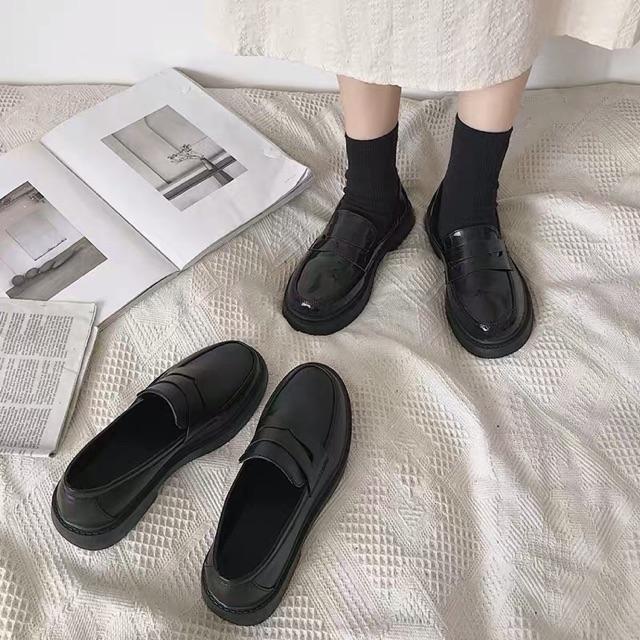 GO055 Giày Oxford nữ sinh Nhật Bản đẀ