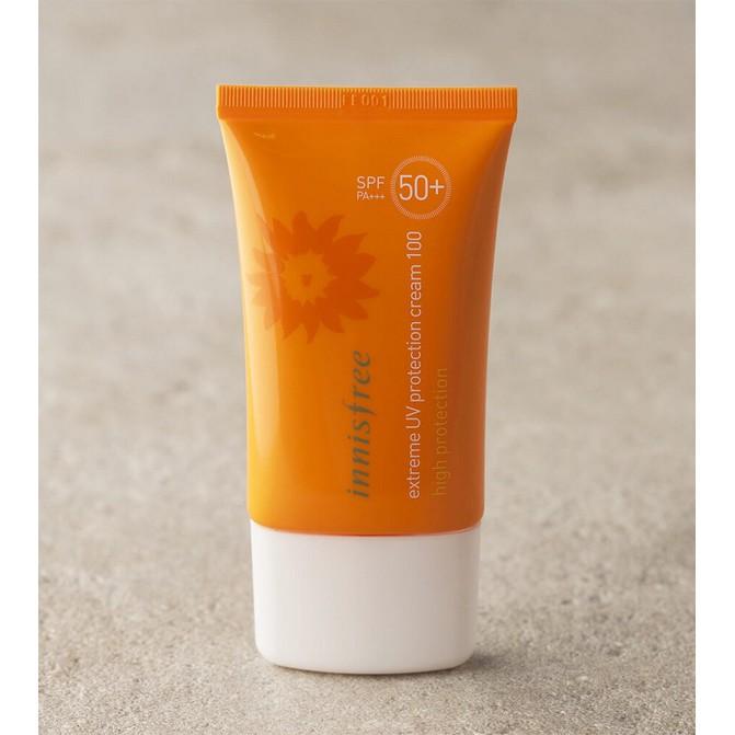 [AUTH 100%] Kem Chống Nắng Chống Thấm Nước Innisfree Extreme Uv Protection Cream 100 High Protection SPF50+ PA+++ - 14225354 , 1632071584 , 322_1632071584 , 260000 , AUTH-100Phan-Tram-Kem-Chong-Nang-Chong-Tham-Nuoc-Innisfree-Extreme-Uv-Protection-Cream-100-High-Protection-SPF50-PA-322_1632071584 , shopee.vn , [AUTH 100%] Kem Chống Nắng Chống Thấm Nước Innisfree Ex