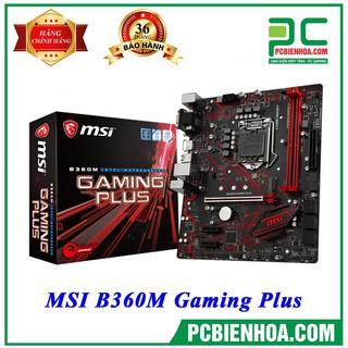 [Mã ELCLDEC giảm 7% đơn 500K] Bo ma ch chu MSI B360M Gaming Plus Socket 1151V2 chi nh ha ng thumbnail