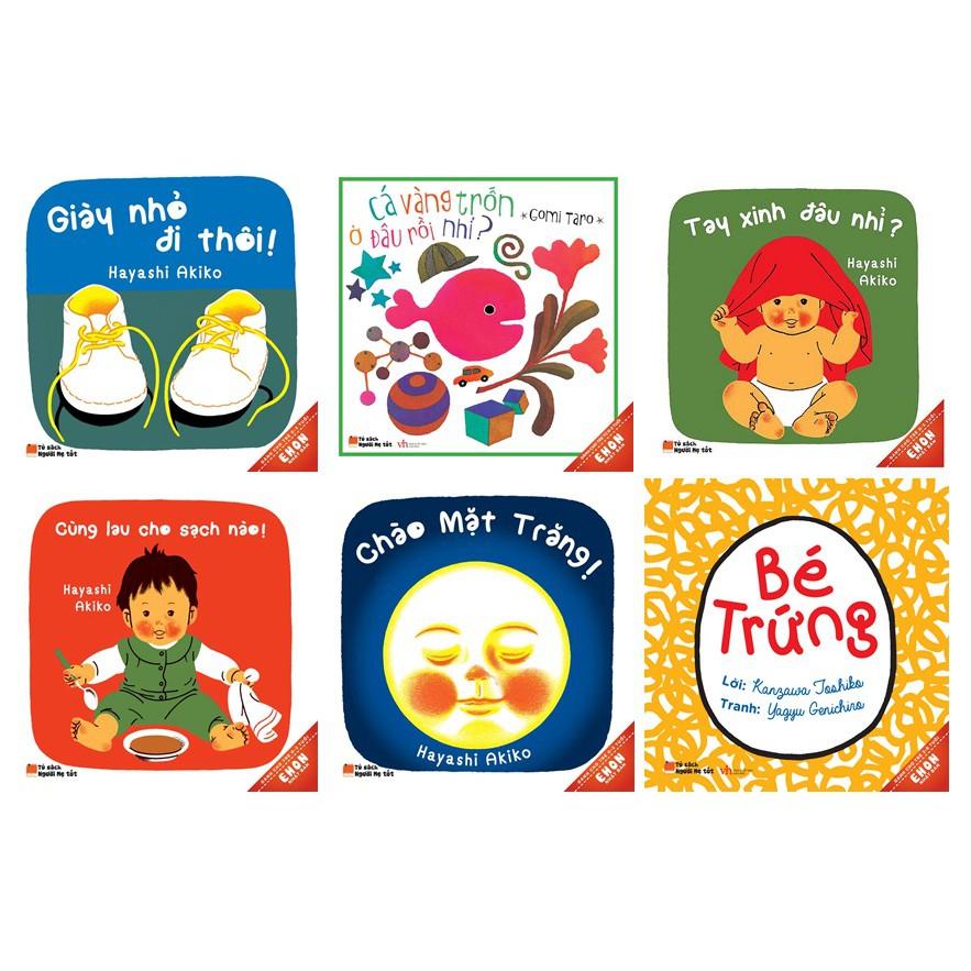 Sách - Combo 6 cuốn Ehon Nhật Bản (0-3 Tuổi)