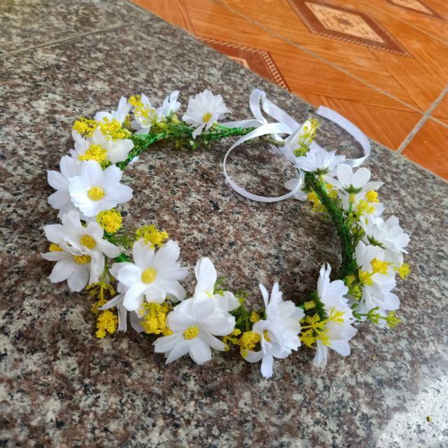 Vòng hoa kỷ yếu cúc họa my