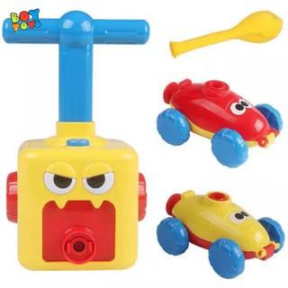 Đồ chơi bơm bóng bay ô tô chạy quán tính thú vị cho bé