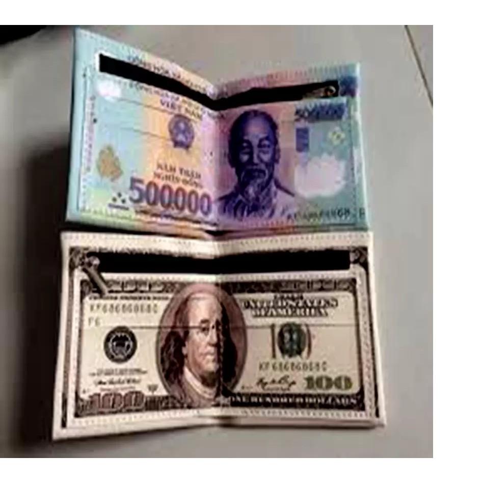 Bộ 2 Ví da cao cấp in hình tiền 500 VND và 100 USD - 2818899 , 124005461 , 322_124005461 , 138000 , Bo-2-Vi-da-cao-cap-in-hinh-tien-500-VND-va-100-USD-322_124005461 , shopee.vn , Bộ 2 Ví da cao cấp in hình tiền 500 VND và 100 USD