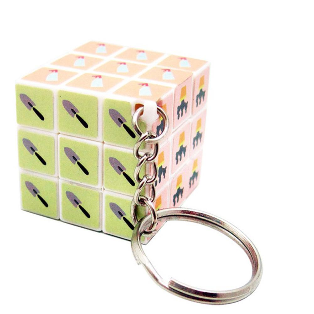 KeyChain Small 3cm 3x3x3 Puzzle Classic Toys Key Chain Cube