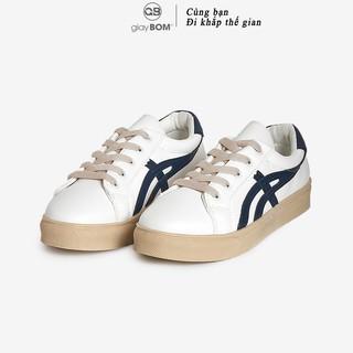 Giày bata nữ giayBOM CLASSICS thiết kế đơn giản đế cao 2 cm B1141 thumbnail