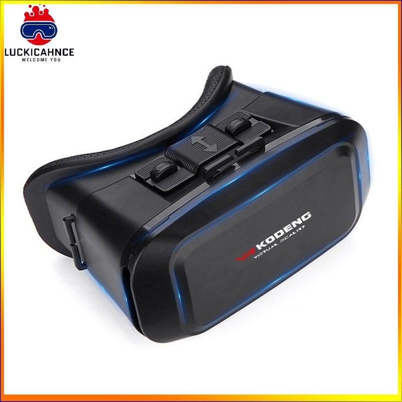 【707】K2 3D Vr Virtual Reality Vr Glasses Eye Mask Smart Helmet Stereo Cinema Boxs