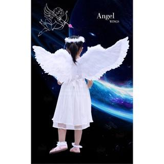 Cánh thiên thần lông vũ cho bé