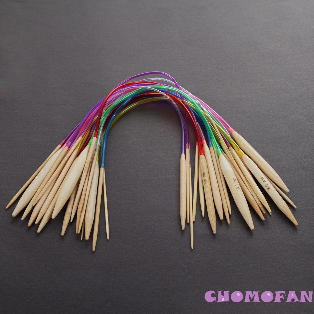 ◈✤18 pairs/set Bamboo Circular Crochet Knitting Needles Tube Sewing Tools✤ - 22078566 , 2715766128 , 322_2715766128 , 86800 , 18-pairs-set-Bamboo-Circular-Crochet-Knitting-Needles-Tube-Sewing-Tools-322_2715766128 , shopee.vn , ◈✤18 pairs/set Bamboo Circular Crochet Knitting Needles Tube Sewing Tools✤