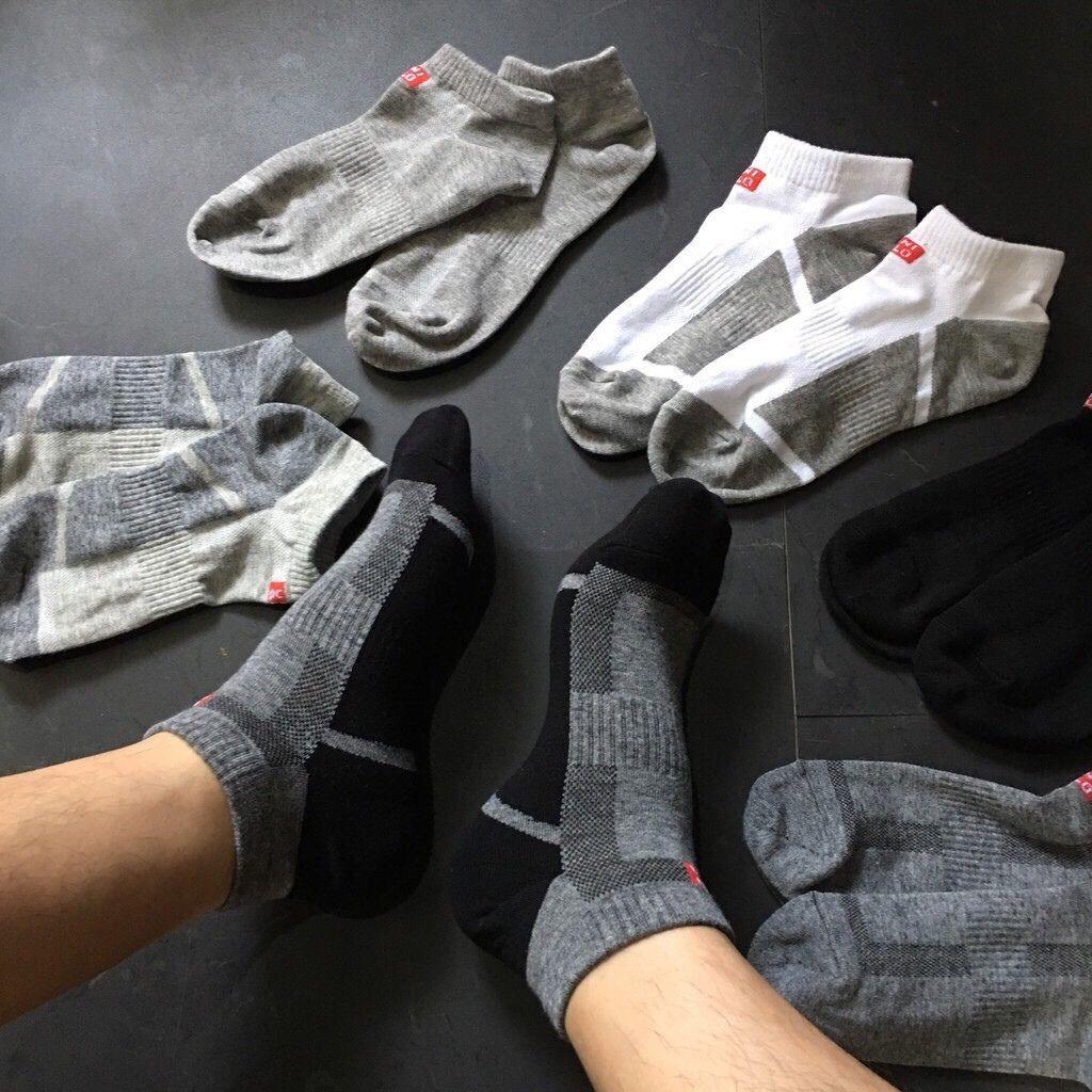Tất (Vớ) Nam Hàng Nhật Cổ Trung chất liệu cotton, thoáng khí, thông hơi, thấm mồ hôi 1 đôi