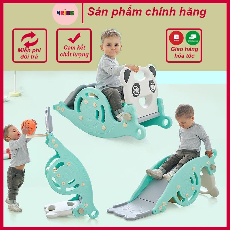 Cầu trượt cho bé – Cầu trượt bập bênh 3 in 1 đa năng cho bé – Bảo hành 12 tháng