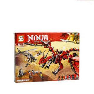 (SALE CỰC SỐC)TRÒ CHƠI LEGO 955 CHI TIẾT RỒNG LỬA ĐẠI NÁO