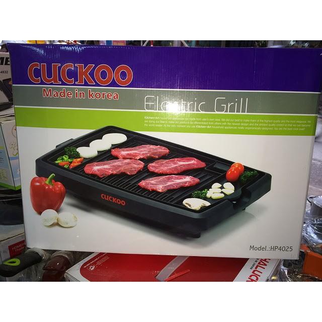 Bếp nướng điện cao cấp CUCKOO