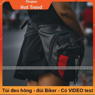 GIÁ RẺ - Loại túi đeo đùi dùng chạy xe máy tiện dụng - Túi đeo chéo đùi Biker RAMBO phiên bản mới thumbnail