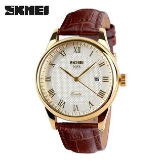 Đồng hồ nam SKMEI SM21 dây da thời trang cao cấp chống nước siêu bền - Shop Ngọc Huyền