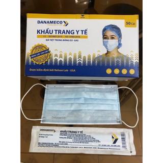 Khẩu Trang Y Tế Tiệt Trùng DANAMECO 1cái gói - 50cái hộp thumbnail