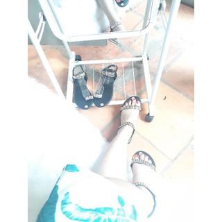 sandal quai ngang đính đá - Boho Vintage Style