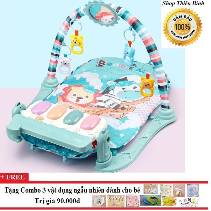 Thảm chơi có nhạc cho bé kèm đồ chơi đáng yêu - 3410004 , 1018186251 , 322_1018186251 , 339000 , Tham-choi-co-nhac-cho-be-kem-do-choi-dang-yeu-322_1018186251 , shopee.vn , Thảm chơi có nhạc cho bé kèm đồ chơi đáng yêu