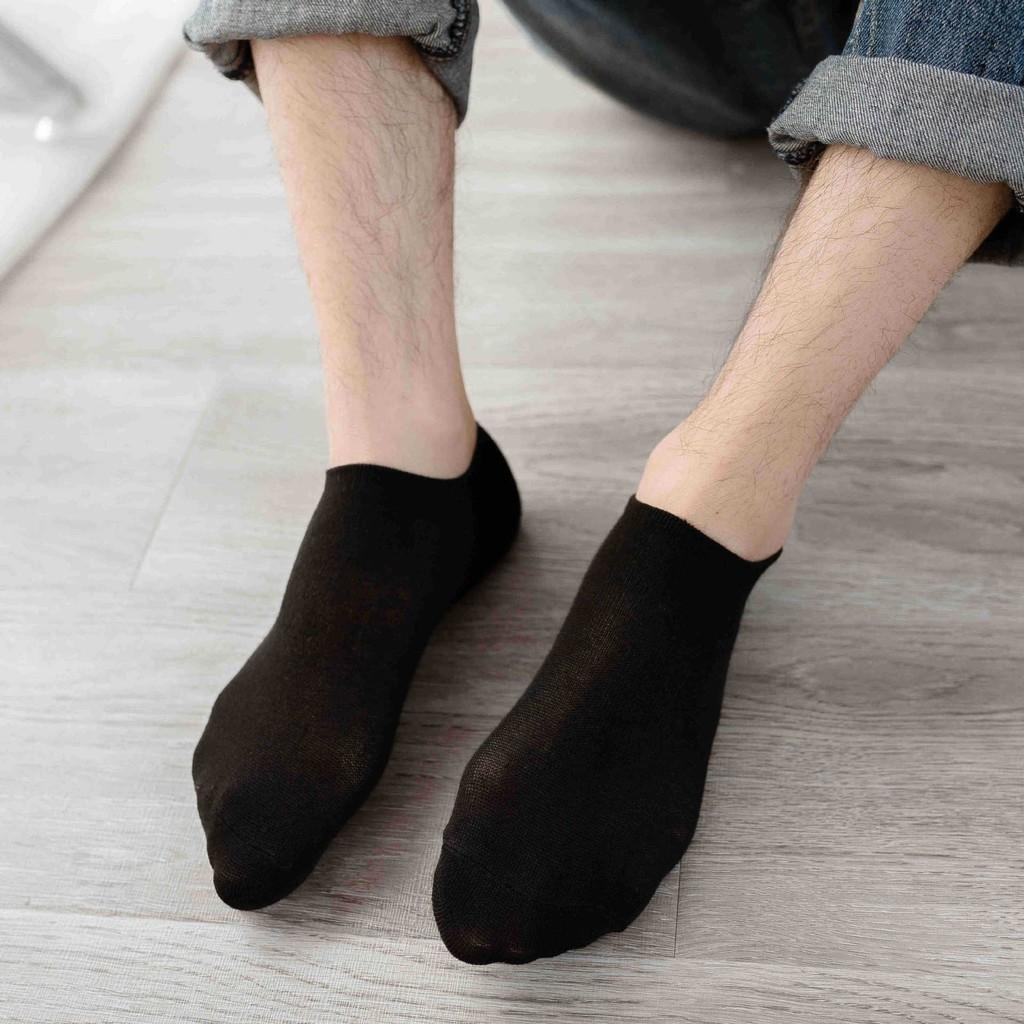 Vớ lười nam thấp cổ có đệm gót chống tuột TN42